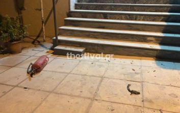 Επίθεση με μολότοφ στο ΑΤ Τούμπας στη Θεσσαλονίκη