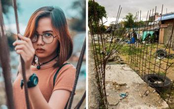Βγάζοντας μια εντυπωσιακή φωτογραφία ακόμη και δίπλα σε έναν σκουπιδοτενεκέ