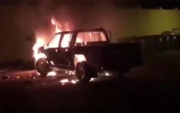 Βίντεο από ταραχές με μετανάστες σε κέντρο κράτησης της Μάλτας