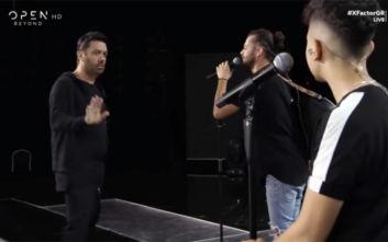 X-Factor: Έξαλλος ο Γιώργος Θεοφάνους με ένα από τα συγκροτήματά του