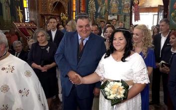 Η κίνηση της νύφης στο «η δε γυνή να φοβήται το άνδρα» που προκάλεσε εντύπωση