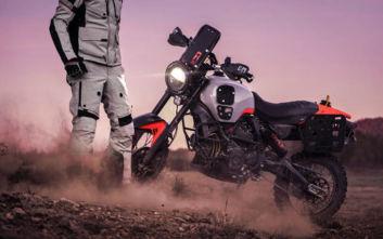Μια Ducatti που πήρε τα βουνά της Αλάσκας