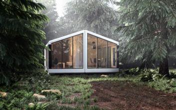 Το πλήρως αυτόνομο προκάτ σπίτι με τις έξυπνες τεχνολογίες