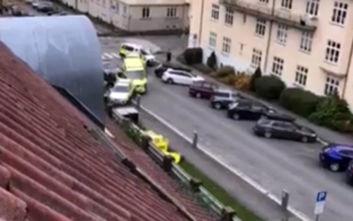 Κλεμμένο ασθενοφόρο έπεσε σε πεζούς στο Όσλο