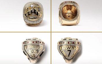 NBA: Τα ακριβότερα δαχτυλίδια πρωταθλητών της ιστορίας στα χέρια των Ράπτορς