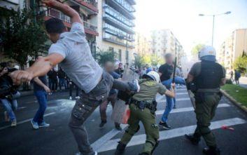 Τι κατέθεσε ο αστυνομικός που δέχθηκε χτύπημα από διαδηλωτή στο άγαλμα του Τρούμαν