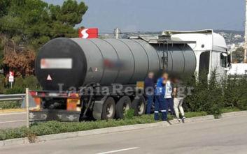 Λαμία: Αυτοκίνητο χωρίς οδηγό βγήκε στην εθνική οδό