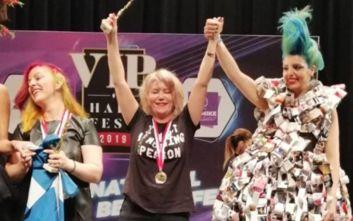 Αυτή είναι η Αγρινιώτισσα που κέρδισε παγκόσμιο διαγωνισμό κομμωτικής στην Τουρκία