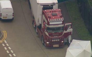 Κινέζοι τα 39 θύματα στο φορτηγό στο Έσεξ