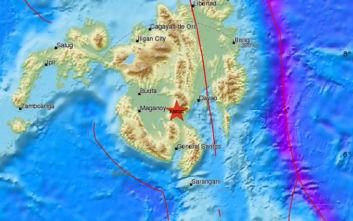 Ισχυρός σεισμός τώρα στις Φιλιππίνες