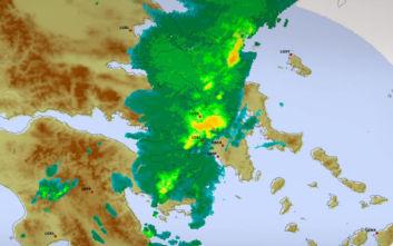 Καιρός: Βροχές, καταιγίδες και χαλάζι σε όλη τη χώρα, σε ισχύ το έκτακτο δελτίο της ΕΜΥ