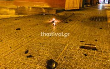 Θεσσαλονίκη: Κουκουλοφόροι επιτέθηκαν με μολότοφ σε διμοιρία και περιπολικό
