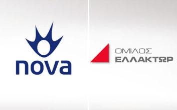 Συνεργασία Nova και Ομίλου ΕΛΛΑΚΤΩΡ για έργα στις τηλεπικοινωνίες