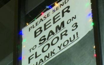 Ο έξυπνος τρόπος που σκέφτηκε στέλεχος εταιρείας για να πίνει δωρεάν μπύρα