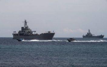 Η Αθήνα θα στείλει πλοία για άσκηση με πραγματικά πυρά στην Κάρπαθο