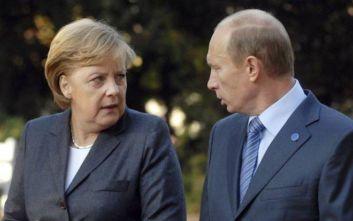 Συζήτησαν τις εξελίξεις στην Συρία Μέρκελ και Πούτιν