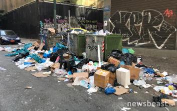 Σκουπίδια στους δρόμους της Αθήνας, σκληραίνει τη στάση της η ΠΟΕ - ΟΤΑ