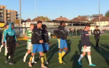 Οριστική διακοπή σε ματς του Κυπέλλου Αγγλίας λόγω ρατσιστικής επίθεσης