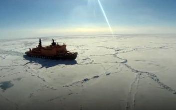 «Κατά λάθος εξέπεμψε σήμα κινδύνου το ρωσικό παγοθραυστικό στη Νορβηγία»
