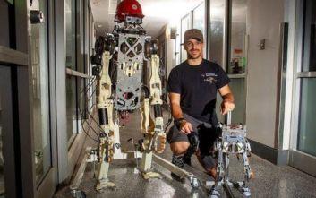 Πηδάει ο άνθρωπος, πηδάει και το ρομπότ