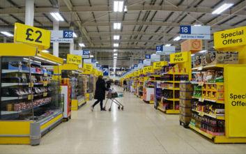 Οι Βρετανοί δεν στοκάρουν ακόμα προϊόντα ενόψει Brexit