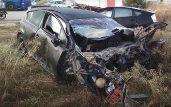 Τροχαίο δυστύχημα με δύο νεκρούς στην Δαλαμανάρα Άργους