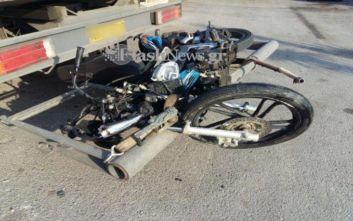 Σοβαρός τραυματισμός δύο νεαρών σε τροχαίο στα Χανιά