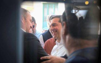 Τσίπρας: Κάνουμε μια μεγάλη καμπάνια να συναντήσουμε τον κόσμο που μας στηρίζει