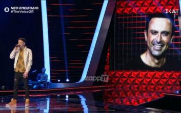 The Voice: Ο αδελφός του Κωνσταντίνου Χριστόφορου στη σκηνή