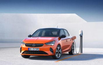 Η Opel στην πρίζα: Παράγει 8 ηλεκτροκίνητα μοντέλα μέχρι το 2021