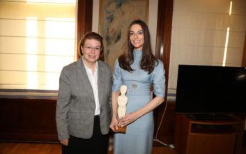 Στην Αθήνα η εγγονή του φιλέλληνα επιχειρηματία David Rockefeller