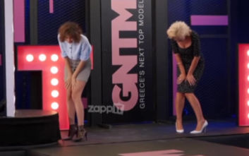 GNTM 2: Η ατάκα παίκτριας και το νευρικό γέλιο της Έλενας Χριστοπούλου