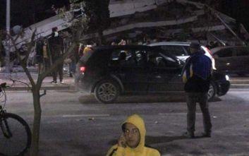 Ισχυρός σεισμός στην Αλβανία: Τραυματίες και ζημιές σε κτίρια