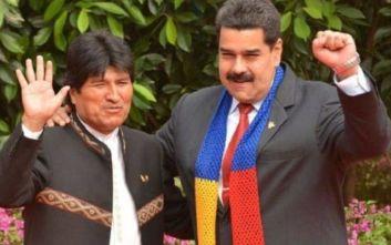Βολιβία: Ο Νικολάς Μαδούρο καταδικάζει το «πραξικόπημα» εναντίον του Έβο Μοράλες