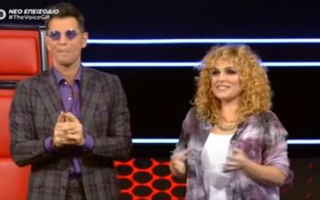 The Voice: Κοντραρίστηκαν στον «αέρα» Ρουβάς-Ζουγανέλη για την παίκτρια