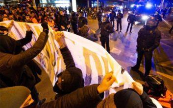 Ισπανία:  Στους δρόμους ξανά οι Καταλανοί παραμονή των εκλογών