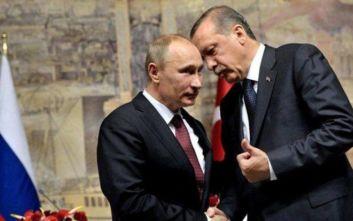 Συνάντηση Πούτιν - Ερντογάν: ΗΠΑ, Ιράν και Λιβύη στο επίκεντρο των συζητήσεων