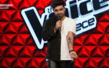The Voice: Μετά το «Ταλέντο» εμφανίστηκε στο πλατό με... τατουάζ της Παπαρίζου