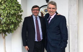 Πάιατ: Ένδειξη του ηγετικού ρόλου της Ελλάδας στα Βαλκάνια η επίσκεψη Πάλμερ