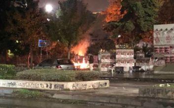 Πολυτεχνείο 2019: ΜΑΤ γύρω από το ΑΠΘ, φωτιές στην Πολυτεχνική Σχολή