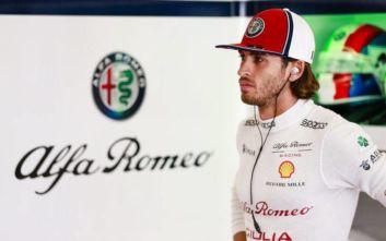 Συνεχίζει και το 2020 με την Alfa Romeo Racing ο Αντόνιο Τζιοβινάτσι