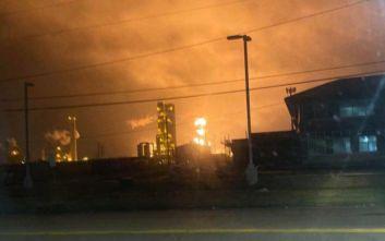 Έκρηξη σε εργοστάσιο χημικών στο Τέξας: Εκκενώνεται η περιοχή σε ακτίνα 800 μέτρων