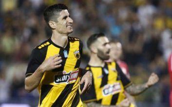 ΑΕΚ: Στη διάθεση του προπονητή του ο Μάνταλος για το ματς με Ατρόμητο