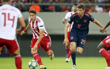 Champions League: O Ολυμπιακός αντιμετωπίζει την Μπάγερν Μονάχου