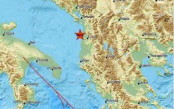 Ισχυρός σεισμός τώρα στην Αλβανία