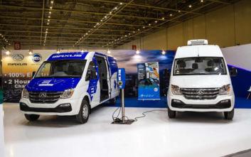 Αμιγώς ηλεκτρικά Van από την Κίνα