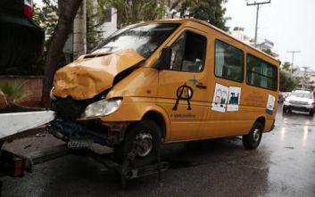 Τροχαίο με σχολικό στη Βούλα: Πώς έγινε το ατύχημα