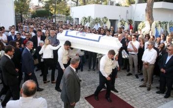 Αδαμάντιος Μαντής: Θρήνος στην κηδεία του 21χρονου πολίστα