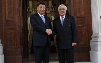 Παυλόπουλος σε Σι Τζινπίνγκ: Αναβαθμίζεται η στρατηγική σχέση Ελλάδας-Κίνας