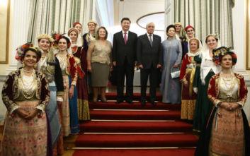 Παυλόπουλος: Θερμό κλίμα στο δείπνο για τον Κινέζο πρόεδρο με... μηνύματα προς την Τουρκία